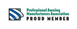 Member of Professional Awning Manufacturers Associations