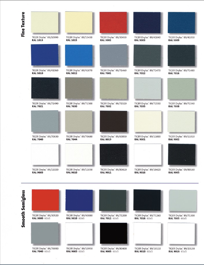 Powder Coating Colors Awnings Of Hollywood