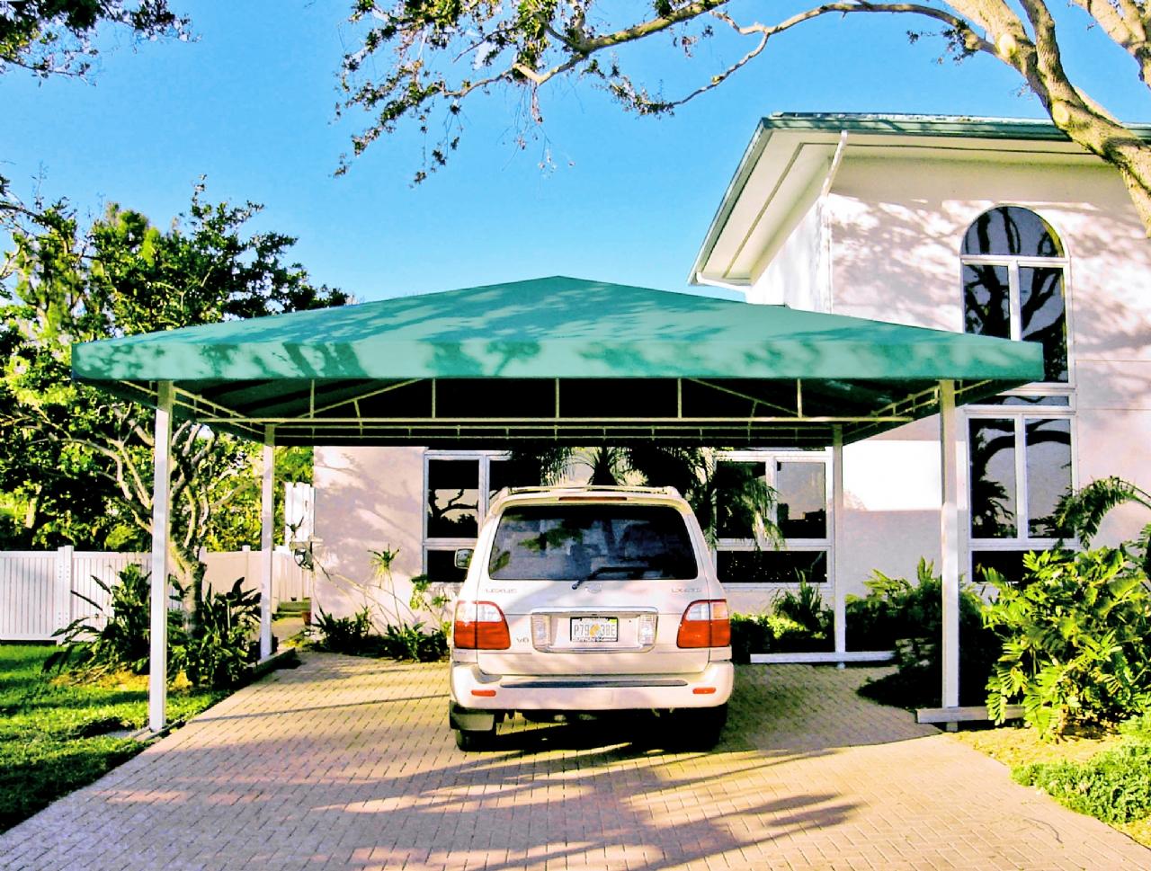 Fabric Carport Canopy : Residential