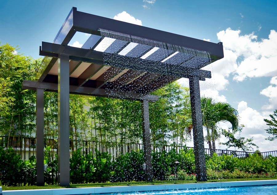 Waterfall Trellis
