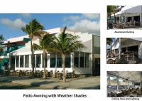 Commercial Patio Awnings and Canopies